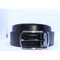 Fish Italian Leather Belt