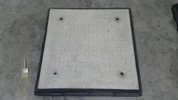 Thermodrain FRP Manhole Cover With Frame 300mm x 300mm