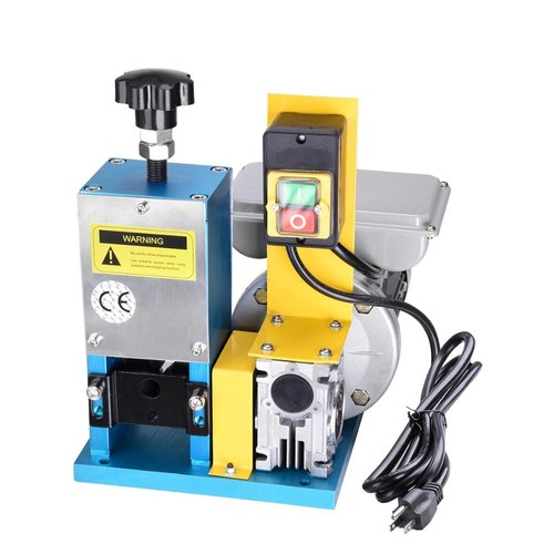 Electric ST-025M Semi Automatic Copper Wire Stripping Machine, Capacity: 100-300kg/Day, Model Name/Number: St-025