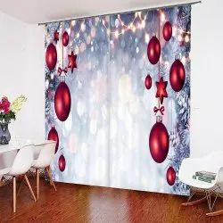 Printed Cotton Curtain, For Home