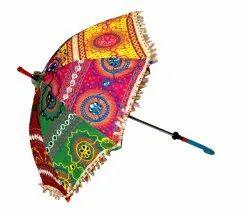 Handmade Embroidered Umbrella