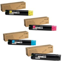 Xerox Phaser 7500 Toner Cartridges CMYK Set