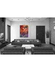 Digitally Printed Canvas Posters Size 20x28 Inch