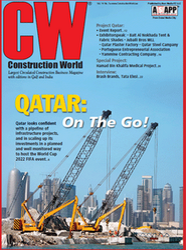 Construction World  Gulf Edition Magazine Publication