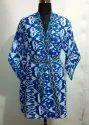 Cotton Kimono Women Bathrobe
