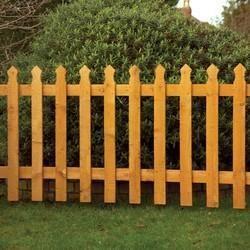 Wooden Fence Garden