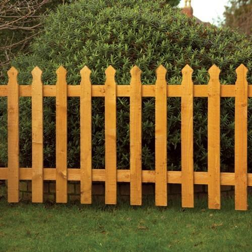 High Quality Wooden Fence Garden