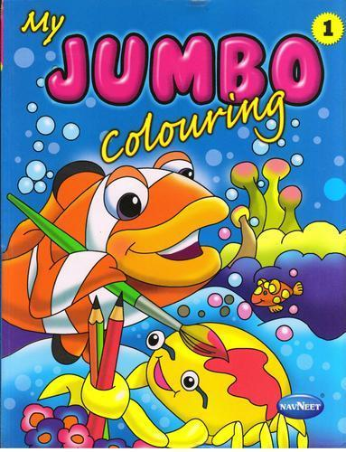 My Jumbo Colouring Book