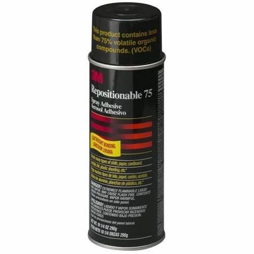 Industrial Grade 3M Repositionable 75 Spray Adhesive