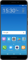Gionee F205 Mobile, Screen Size: 5.45 Inches