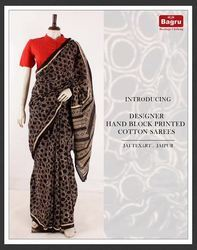 Cotton Block Printed Sarees