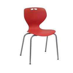 Supreme Plastic Red Restaurant Chair