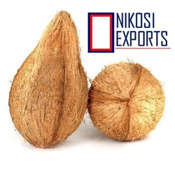 NIKOSI A Grade SEMI HUSKED COCONUT, Packaging Size: 20 Kg, Coconut Size Available: Medium