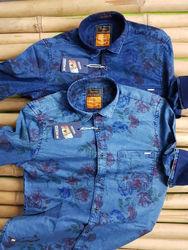 Indigo Print Shirt