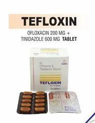 Ofloxacin And Tinidazole Tablets