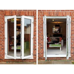 Sliding Toughened Glass UPVC French Door, Interior
