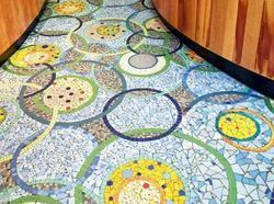 Industrial China Mosaic Flooring Contractor