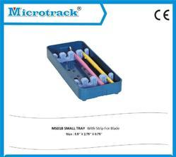 Small Plastic Sterilization Tray with Silicon Holder