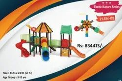 21 BALLS FRP ND IRON Outdoor Multi Play Station