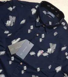 Twill Printed Shirt- Club Italia