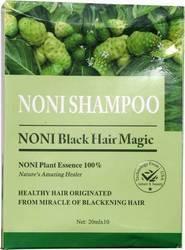 Herbal and Ayurvedic Dandruff,Hair fall Noni Black Hair Magic Shampoo, Packaging Type: Box, Packaging Size: 15 Ml