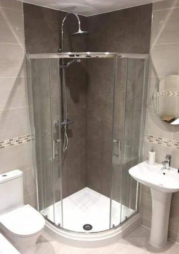 Bathroom Shower Toughened Gl