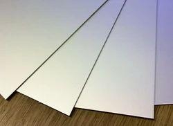 Silver Metal Sheet A 4 Size, 2 Mm