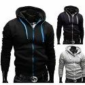 Man Zipper Hoodies