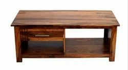 Brown rectangle Wooden Table With Drawer, Size: 39*24*18 Inch, For Library/Home/ Office