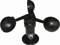 Anemometer with 4 20MA RS 232 USB Cable