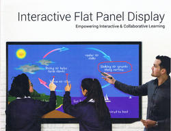 Cloud Walker Interactive Flat Panel Display