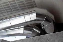 Aluminium Industrial HVAC Duct for Industrial Use