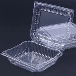 Clear Plastic Food Container