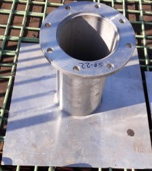 SS Puddle Plate 316 Grade