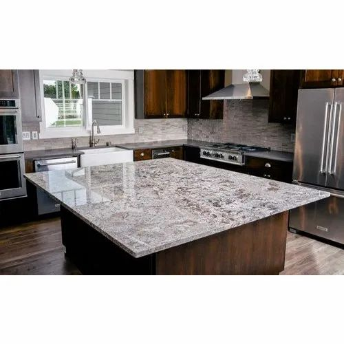Polished Granite Countertops, Rs 350 /square feet Alam Marble ...
