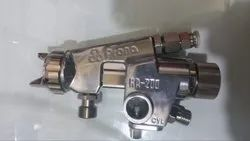 Stainless Steel Prona Automatic Paint Spray Gun, 12 (CFM), Model Name/Number: RA-200