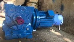 SCON GEARS Three Phase Goods Lift Brake Geared Motor, For Industrial, As Require