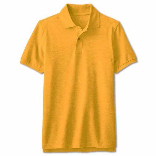 98c447dad5 Customized Print Yellow Polo T Shirt, Couple T-Shirt, Custom Printed ...