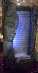 Home Decor Buddha Fountain