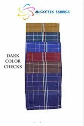 Dark Color Checks Men Handkerchief