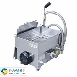 Stainless Steel Sunrry Shortening Filter Cart and Oil Filter
