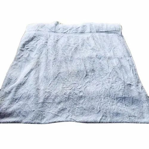 Plain Cotton White Towel, Packaging Type: Packet