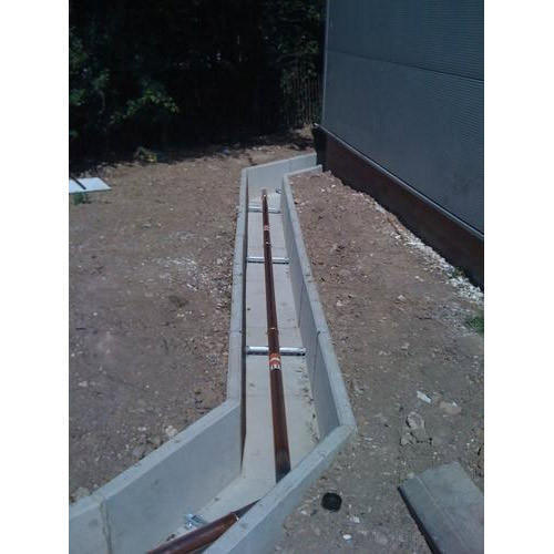 Jr Concrete Cable Trench Rs 800 Running Feet J R Cover
