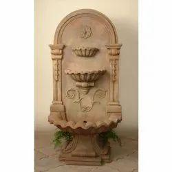 Golden Decorative Sandstone Indoor Water Fountain for Indore and Outdoor