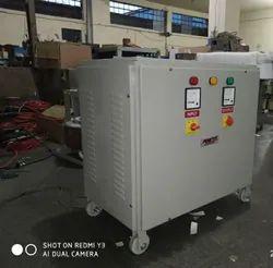 100 kVA Three Phase Step Down Transformer, Input Voltage: 420 Volt