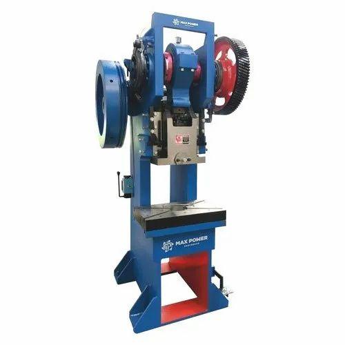 Power Press Machine Mechanical Power Presses Manufacturer From Rajkot