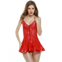 Ladies Red Net Nighty
