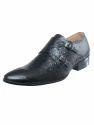 Leather Double Monk Strap Shoe