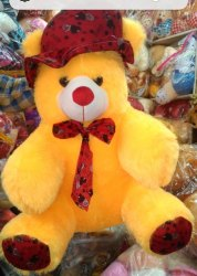 Teddy Soft Toy with Cap