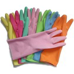 Latex Industrial Hand Gloves